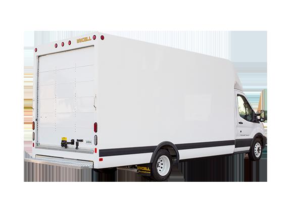 Aerocell Transit Van Body Rear View